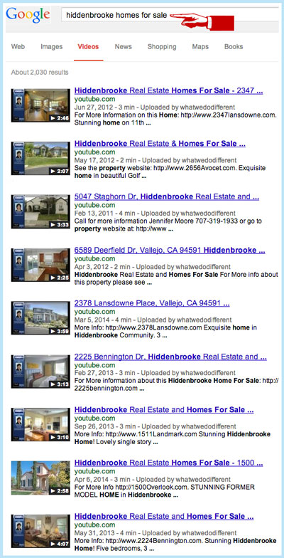 YouTube Search Homes For Sale